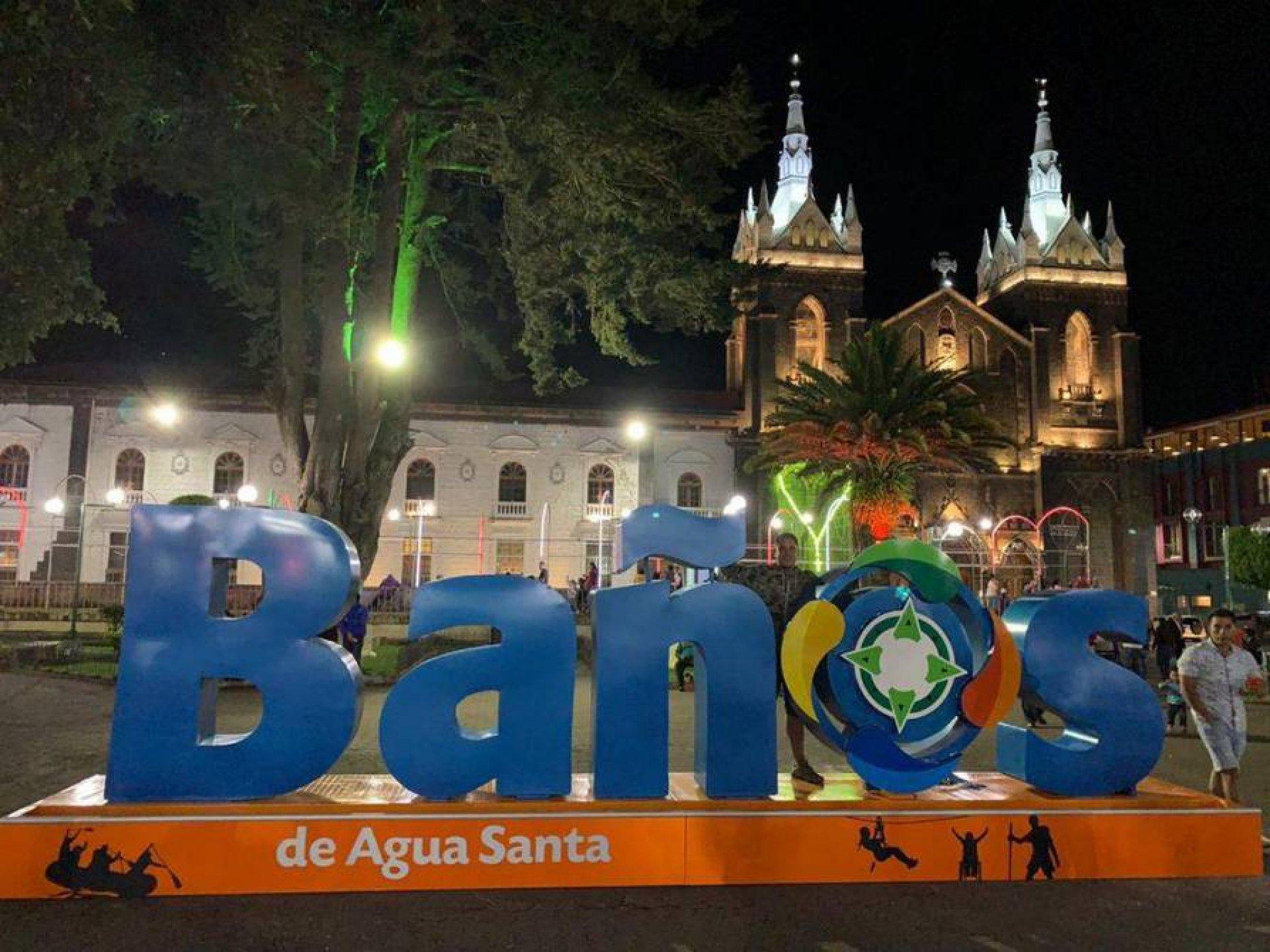 Tourist Atraccions in Baños of Agua Santa