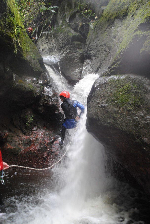 Canyoning en Baños Ecuador
