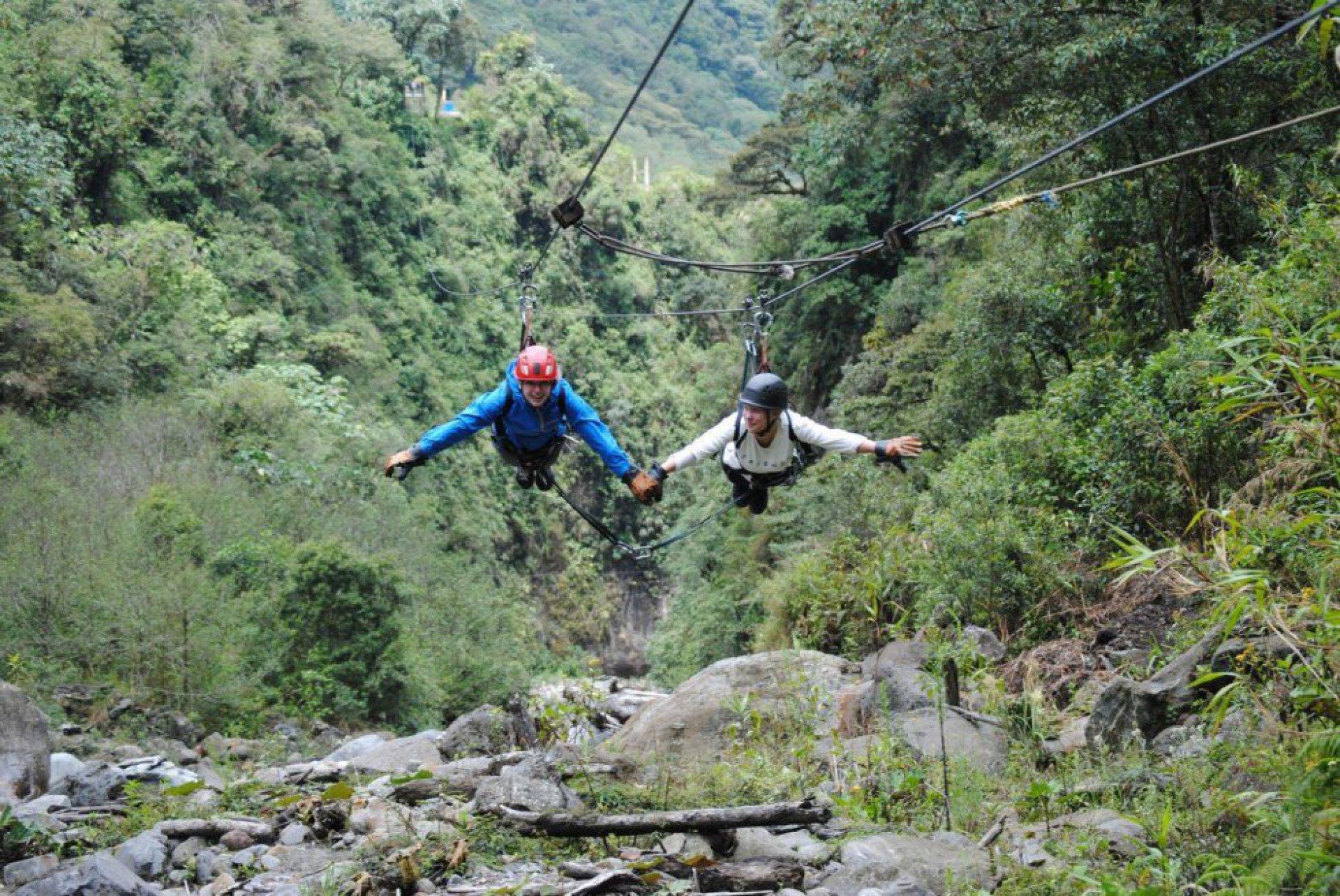 Canopy Baños Ecuador